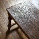 Wooden vintage bench
